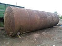 Цистерна металлическая толстостенная 45м3