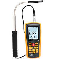 GM8903 Анемометр Счетчик скорости ветра Измерение температуры Интерфейс USB