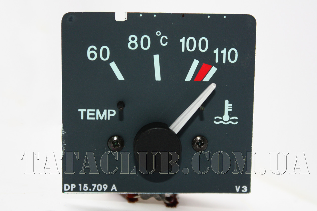 Индикатор температуры охлаждающей жидкости 24V (613 EII, EIII) TATA MOTORS / TEMPERATURE GAUGE