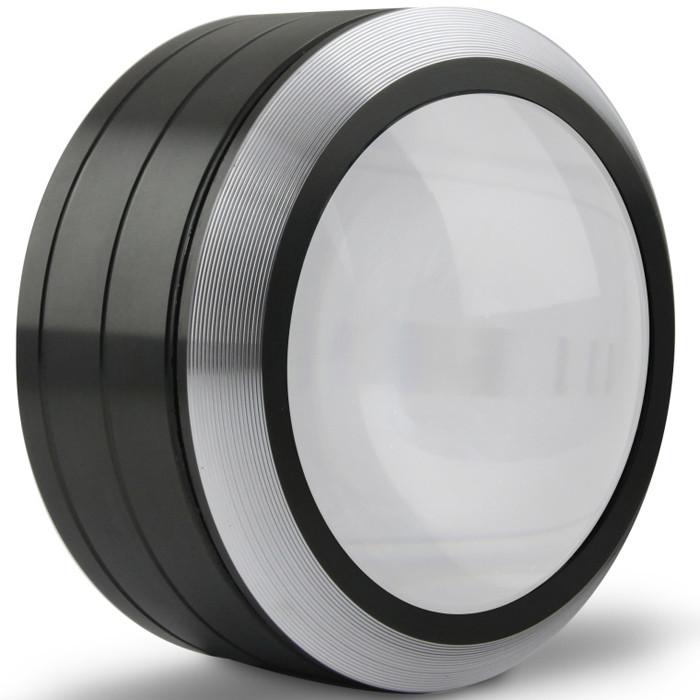 5 x 90 мм цилиндрическая лупа с 3 LED лампами K9 Оптическая Объектив Лупа 1TopShop