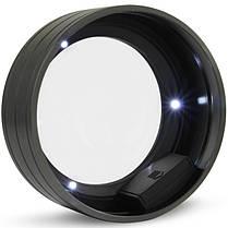 5 x 90 мм цилиндрическая лупа с 3 LED лампами K9 Оптическая Объектив Лупа 1TopShop, фото 2