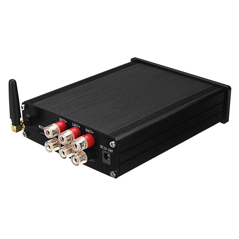 TDA7498E Lossless Digital Усилитель Board Bluetooth 4.0 12V-24V 160W с корпусом 1TopShop