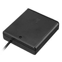 DC5V 4 * AA Батарея Коробка Держатель Чехол USB-блок питания для LED Газовый свет 1TopShop, фото 3