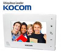 Видеодомофон цветной Kocom KCV-A374 white