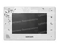 Видеодомофон цветной Kocom KCV-A374LE white