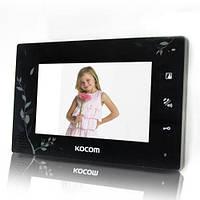 Видеодомофон цветной Kocom KCV-A374SD LE black