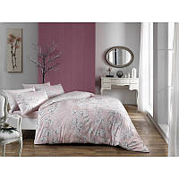 Постельное белье Flora розовый TAC Satin