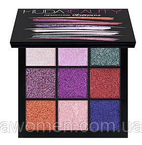 Тени Huda Beauty OBSESSIONS PALETTE Gemstone (9 цветов)