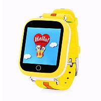 Детские умные GPS часы Q100s Yellow (SBWQ100Y), фото 1