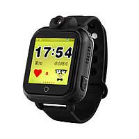 Умные детские часы Baby Smart Watch Q200 Черные (hub_YHZJ98120)