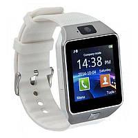 Умные часы Smart Watch DZ09 Silver/White (SWDZ09SW)