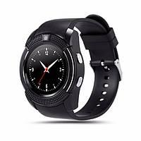 Часы-телефон Smart Watch V8 Black, фото 1