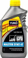 Yuko Master Synt 4T SAE 10W-30 масло для садовой техники, 1 л