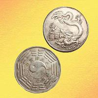 Зодиакальная Монета Счастья Дракон