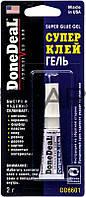 DoneDeal DD6601 Суперклей-гель, 2 г