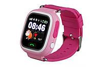 Умные детские часы Baby Smart Watch Q90 Розовые (hub_hHXN89773)