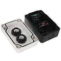 Нажимная кнопка Дистанционный Пусковая остановка Мотор Соленоид IP55 Новая кнопка Коробка, фото 3