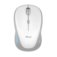 Беспроводная мышь trust yvi fx wireless mouse white (22335)