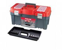 """Ящик для инструмента 18 """"458 х 257 х 245мм (алюминиевая ручка и замки) PROLINE HD"""