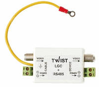 Twist-LGC+RS485 (грозозащита по коаксиалу и витой