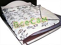 Двухспальное двухслойное одеяло из овчины
