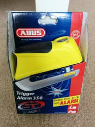 Замок на тормозной диск ABUS 345 Trigger Alarm Yellow