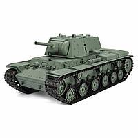 Henglong3878-11/162.4GРадиоКонтроль Пластиковый российский боевой танк KV-1 RC со звуковым курением