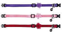 41900 Trixie Satin Ошейник для кошки, фиолетовый