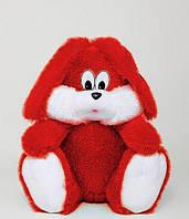 Плюшева іграшка - Зайчик (червоний) 35 див.
