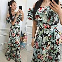 Женское летнее платье Волан пол 2