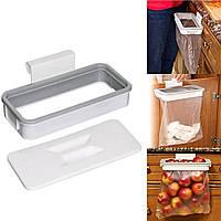Шкаф для столовой дверной вилки Сумка Держатель для хранения мусора Сумка Держатель для подвесной кухни