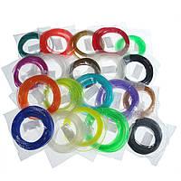 20 цветов / упаковка 5/10 м Длина за цвет PLA 1.75 мм филамент для 3D-печати Ручка 0,4 мм сопло
