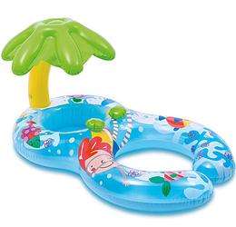 Круг-ходунки для плавания, Пальма. Круг, INTEX плотик для плавания.Круг детский для плавания.