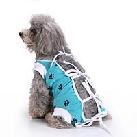 Pet Собака Одежда Медицинская Уход Собака Хирургия Одежда для послеоперационного ухода за больными Физиологический жилет