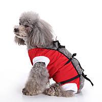 Pet Собака Vest Медицинская Уход Собака Хирургия Одежда для послеоперационного ухода за больными Физиологический жилет