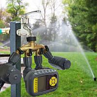 Программируемый оросительный таймер для полива Автоматический контроллер Single Outlet для Сад Faucet Шланг