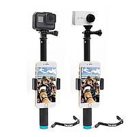 Bakeey Handheld Monopod Штатив Selfie Палка Полюс с зажимом для смартфонов GoPro Hero 4 5 6 SJCAM - 1TopShop