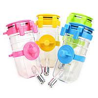 375ML Автоматический питтинг Питьевые фонтаны Подача воды Главная Путешествия Висячие Дизайн Бутылки для воды