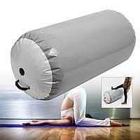 НадувныеРоликГимнастическиевоздушныерулоныTumble Exercise Gym Air Barrel для тренировочного оборудования