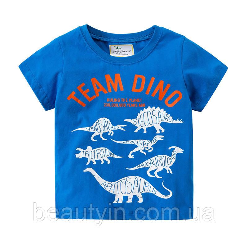 Футболка для мальчика Team Dino Jumping Meters