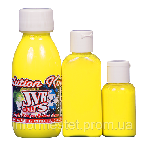 Краска для аэрографа JVR Colors 10мл, opaque light yellow №102