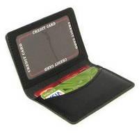 Кожаная обложка на права, биометрический паспорт, для водительского удостоверения с окном