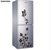 Интерьерная наклейка виниловая на холодильник 0,5*1,40см