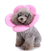 New Soft Губка Цветочная форма Собака Кот Воротник Pet Elizabeth Circle Wound Healing Медицинская Anti-Bite