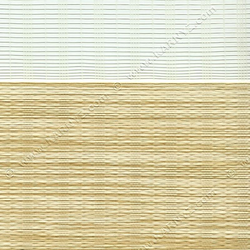 Рулонні штори День-Ніч Індиго B-151 білий шоколад