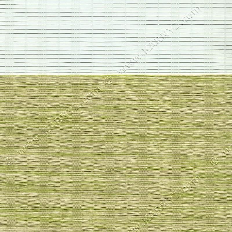 Рулонні штори День-Ніч Індиго B-153 фісташковий