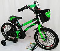 """Велосипед детский """"HAMMER-16"""" S500 Green"""