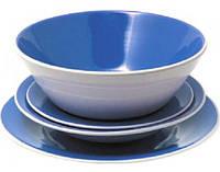 Набор посуды 19 предметов синий Maestro MR20005-19S