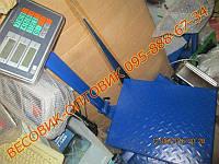 Весы Domotec TCS-К-2 300кг 500х400 Оптом от 10шт., фото 1