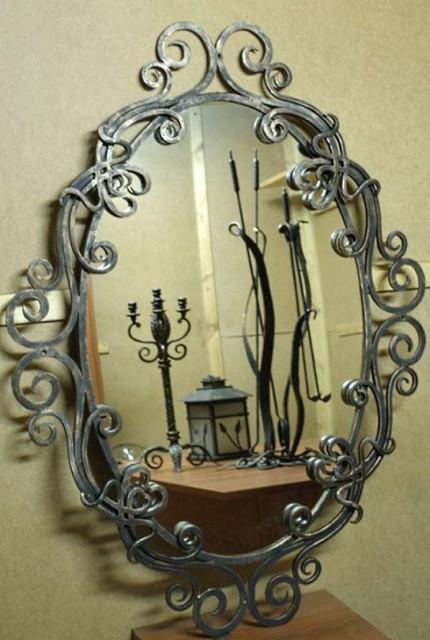 Рамы для зеркал кованые